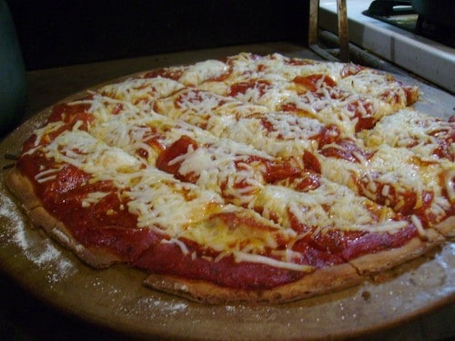 This recipe for Gluten-Free Pizza Crust is absolutely amazing!