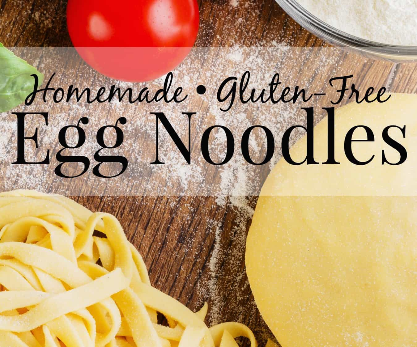Gluten-Free Egg Noodles | The Frugal Farm Wife