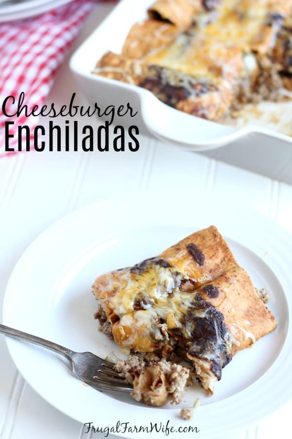 Something different but oh-so delicious. These Cheeseburger Enchiladas are perfect with their unique take on Mexican cuisine.