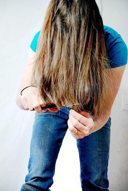 DIY Haircut for ladies
