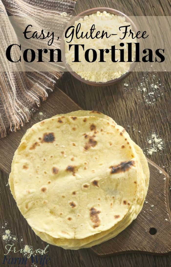 how to make tortilla bread corn