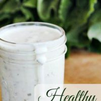 Homemade And Healthy: Buttermilk Ranch Dressing