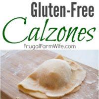 Gluten-Free Calzones