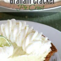"""Gluten-Free """"Graham Cracker"""" Pie Crust"""