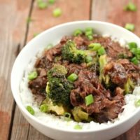 Slow Cooker Chinese beef And Broccoli