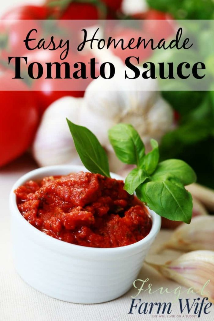 how to make homemade tomato sauce from tomato paste