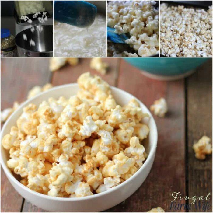 No Corn Syrup Caramel Corn Recipe