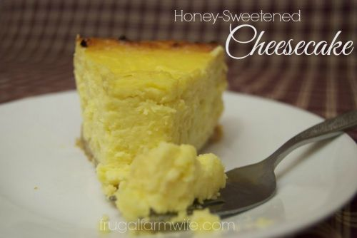 Honey-Sweetened Cheesecake Recipe