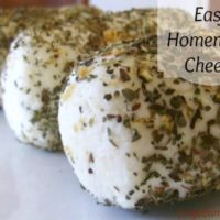 Easy Goat Cheese