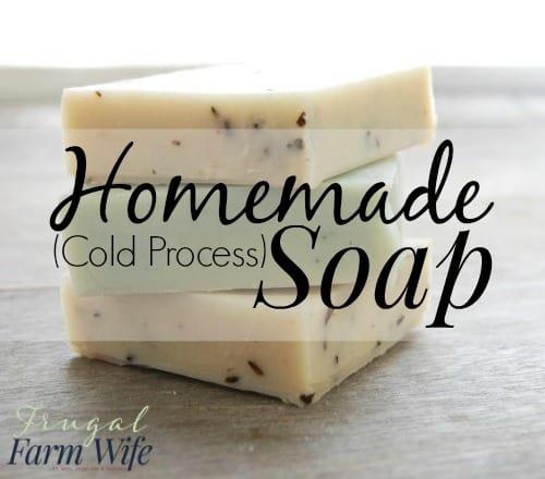 how to make homemade body soap