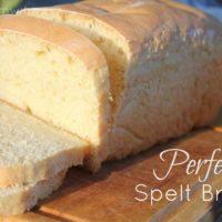 Spelt Sandwich Bread Recipe