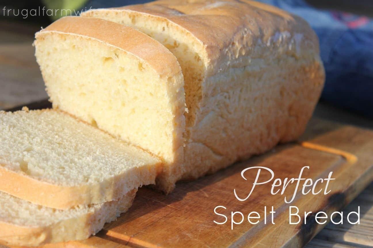 Spelt Bread Recipe Halflifetrinfo