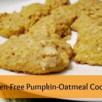 Gluten-Free Pumpkin-Oatmeal Cookies