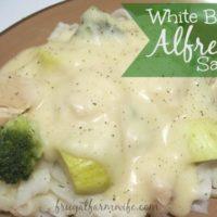 White Bean Alfredo