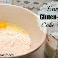 Easy Homemade Gluten-Free Cake Mix