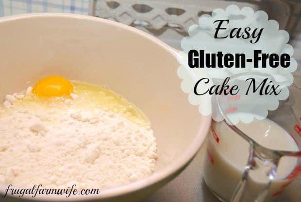 easy gluten-free cake mix