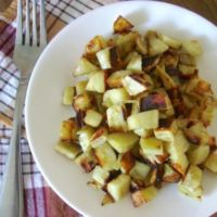 Pan-Fried Sweet potatoes