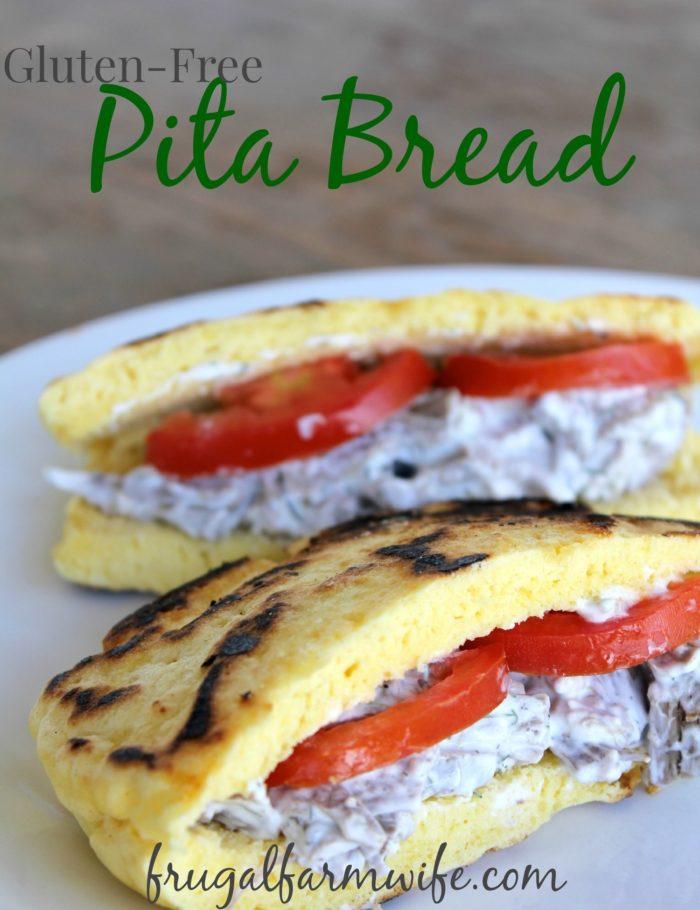 Gluten-Free Pita Bread