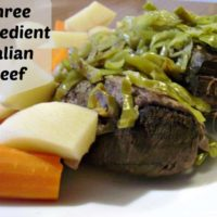 Italian Beef In The Crockpot