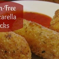Gluten-Free Mozzarella Sticks