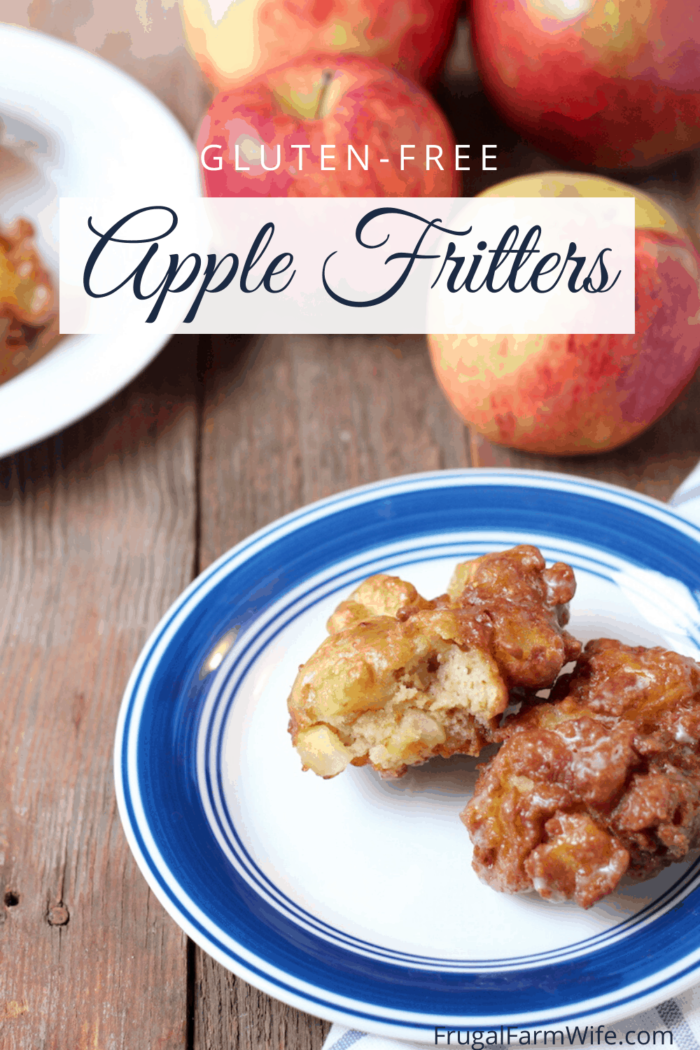 These gluten-free apple fritters are a must have recipe for fall!