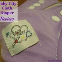 Baby City Cloth Diaper Review