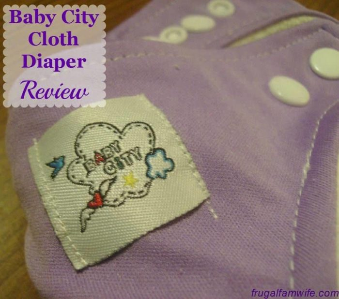 Baby City Cloth Diaper Review | The Frugal Farm Wife