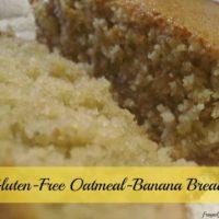 Gluten-Free Oatmeal Banana Bread