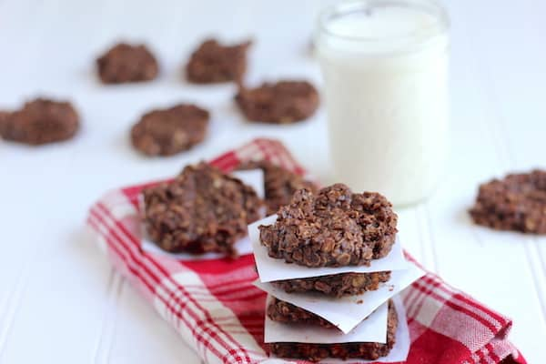 no-bake cookies that are healthy