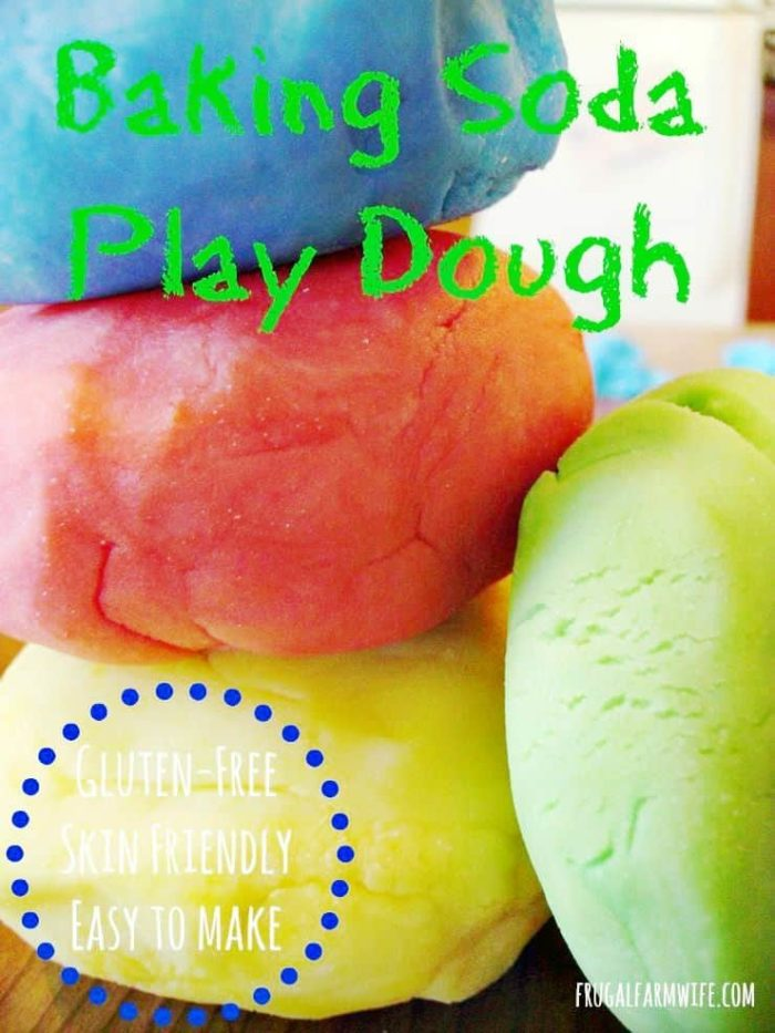 Homemade Baking Soda play dough