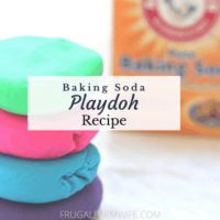 Baking Soda Play Dough