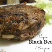 These Vegan Black Bean Burgers are Amazingly delicious - perfect for Meatless Monday!