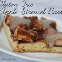 Gluten-Free Apple Struesel Bars