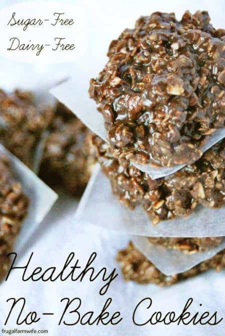 Healthy No-Bake Cookies Recipe