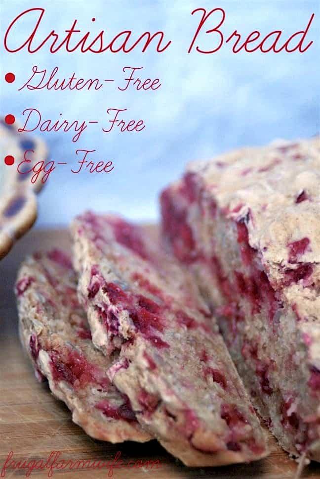 how to make gluten-free artisan bread