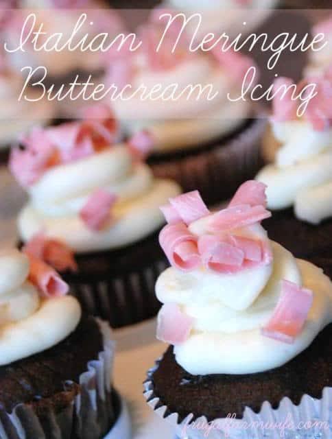 Italian meringue buttercream icing recipe - so delicious!