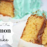 gluten-free lemon cake recipe