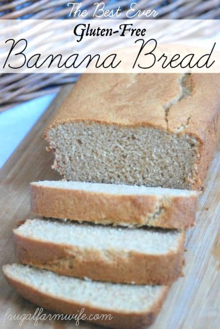 This gluten-free banana bread recipe is so soft, and fluffy - you won't even know it's gluten-free!