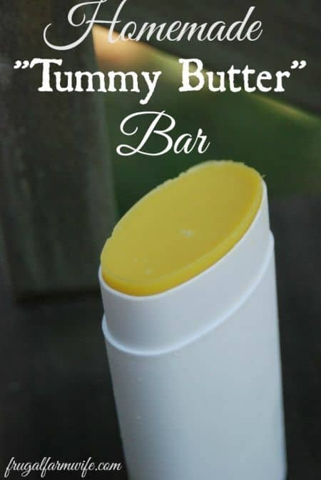 homemade tummy butter and stretch  mark cream