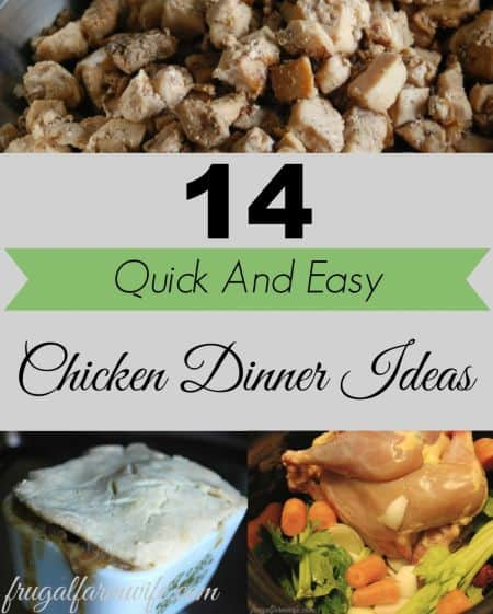 chicken recipe ideas for moms