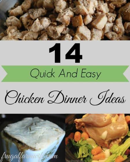 chicken recipe ideas for moms
