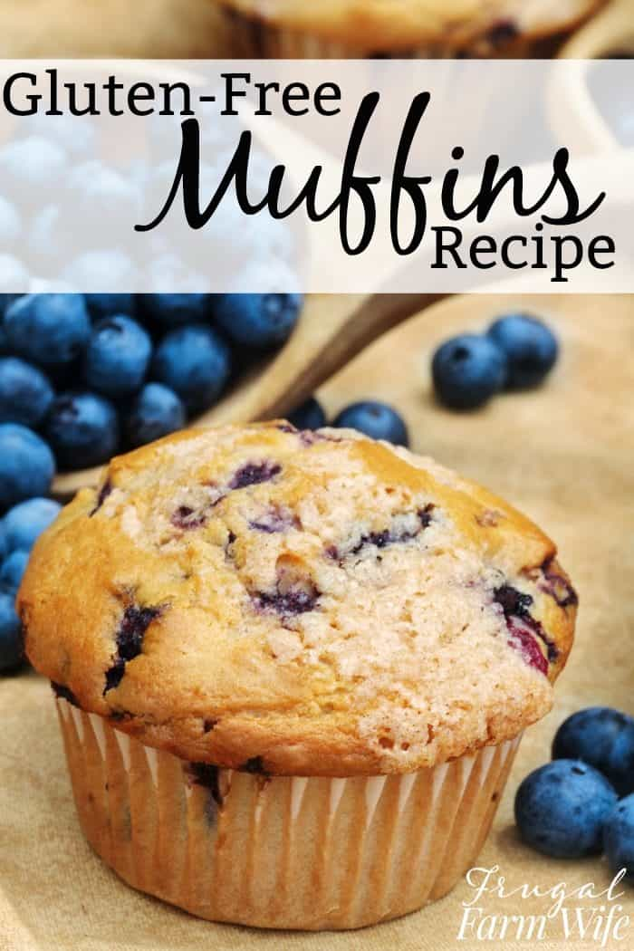 gluten-free muffins recipe - perfect for breakfast!