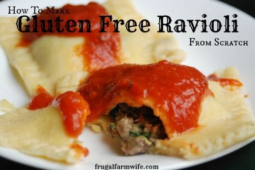 gluten-free ravioli recipe
