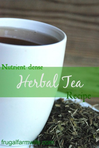this herbal tea recipe will massively increase your nutrient intake!