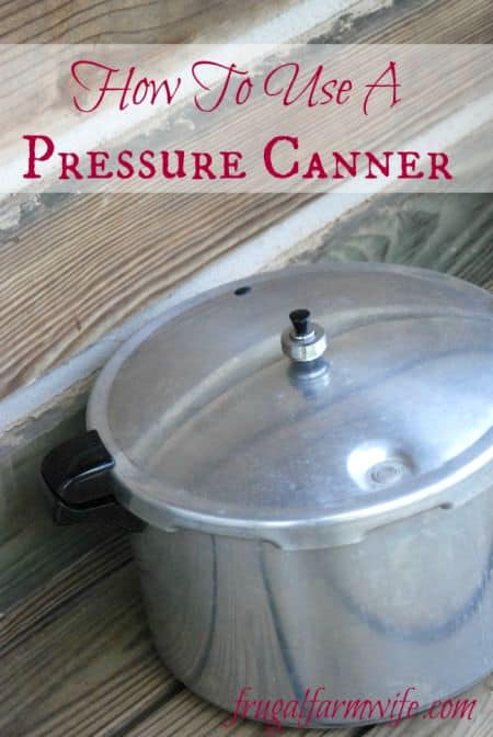 who to use a pressure canner