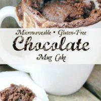 Gluten Free Chocolate Mug Cake