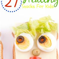 Healthy Kid Snack Recipes