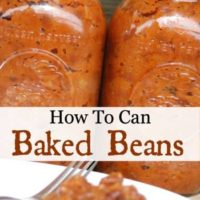 How To Can Baked Beans