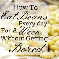 How To Eat Beans Every Day For A Week Without Getting Bored
