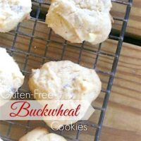 Gluten-Free Buckwheat Cookie Recipe